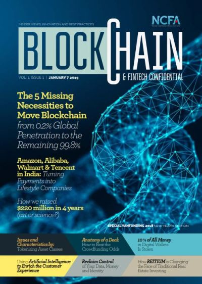 Blockchain fintech confidential cover - Global Financial Technology and Innovation Ecosystem for Investors, Companies and Platforms