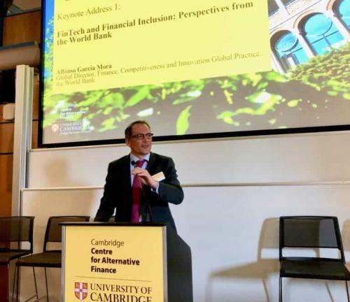 Cambrdige UK Alternative finance - Fintech is Driving Financial Inclusion