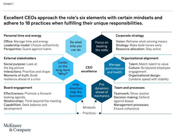 excellent CEOs 6 roles 18 practices - The mindsets and practices of excellent CEOs