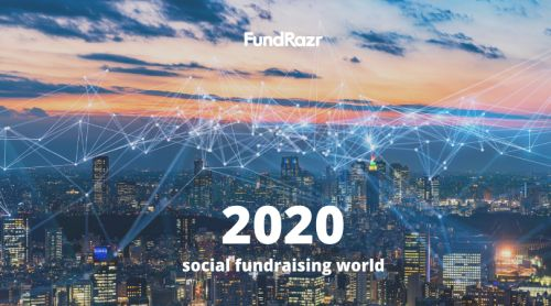 FundRazr holiday greetings and social fundraising 2020 - Raising Capital in a Pandemic World