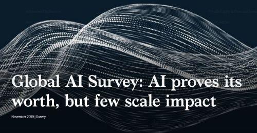 Global AI survey - Global AI Survey: AI proves its worth, but few scale impact