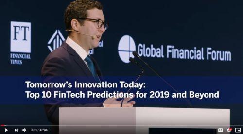top 10 fintech predictions 2019 - Video Library