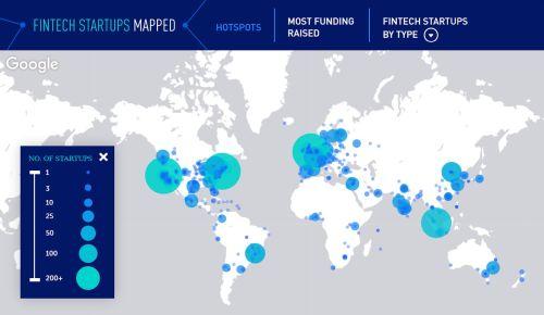 Fintech Startups around the world June 2020 - Where are the Biggest Fintech Startup Hotspots Around the World?
