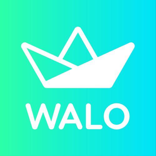 Logo Walo White gradient bg resize - FINTECH FRIDAYS Podcast:  Season 3