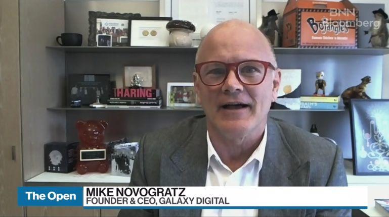 Mike Novogratz and digital assets - Video Library