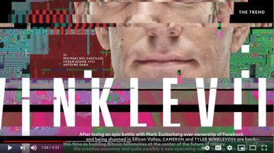 Winkelvoss twins interview - Video Library